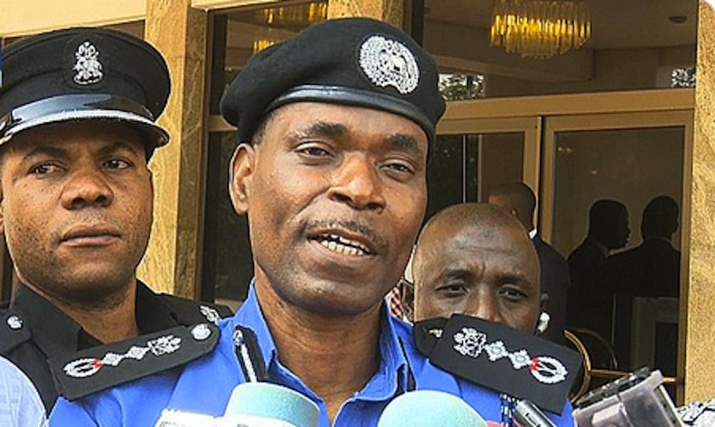 Inspector-General of Police Mohammed Adamu