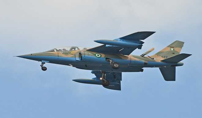Nigerian Air Force jet