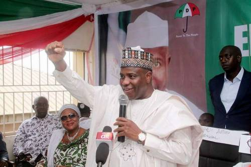 Secondus: Tambuwal speaks on efforts to resolve party crisis