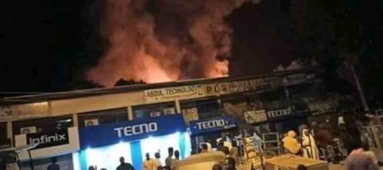 Zulum orders investigation into Maiduguri market fire incident