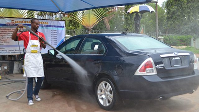 FCT bans use of 'tap water' for car wash business
