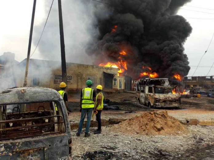 FILE: Lagos explosion
