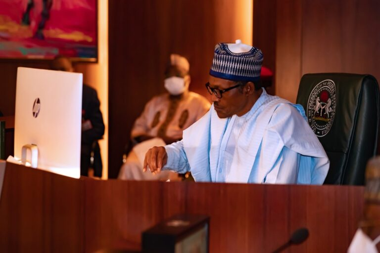 JUST IN: Buhari presides over 9th virtual FEC meeting, minute silence observed in honour of late Isa Funtua