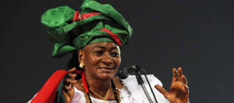 Sarah Jibril urges Nigerian govt to set up community development centres
