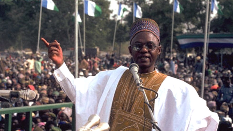 The late President Shehu Shagari