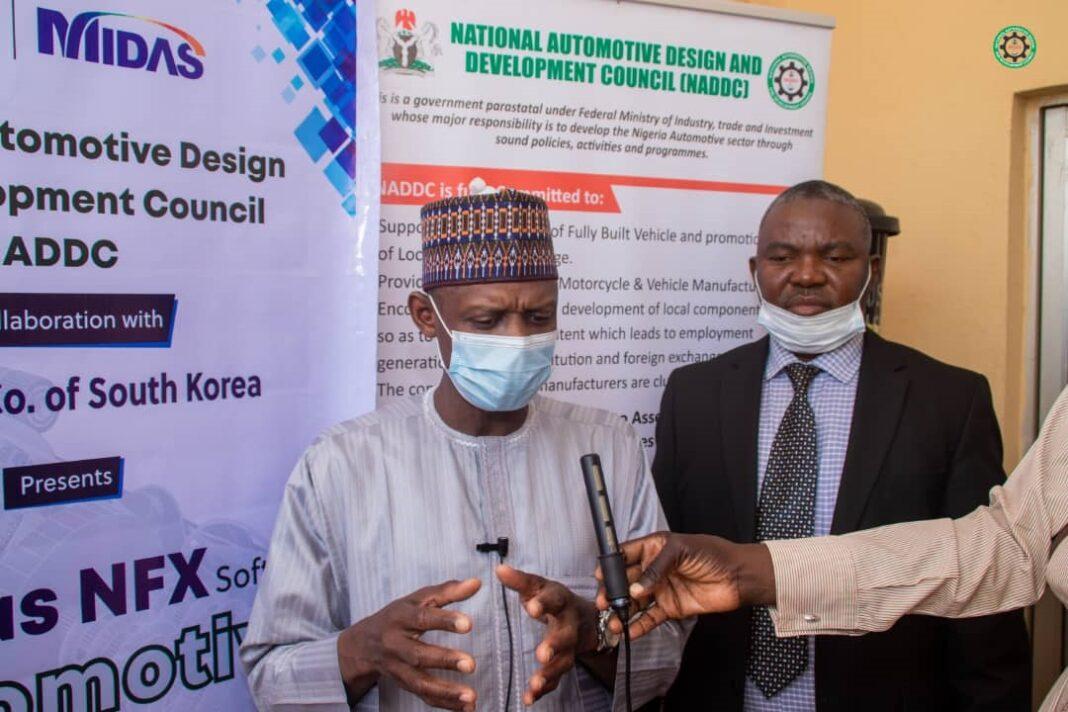 Jelani Aliyu during MIDAS-NADDC training program in Sokoto