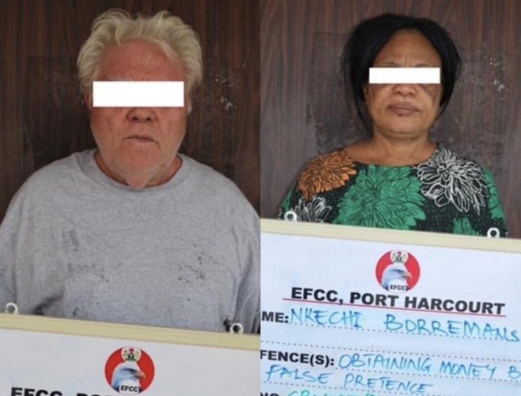 Peiter Borremans and Nkechi Borremans