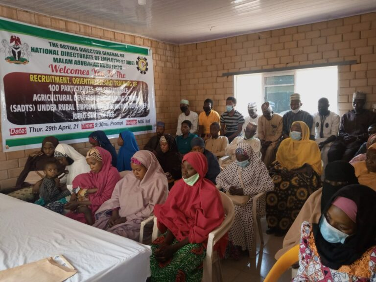 NDE trains 3,700 youths on sustainable agricultural development – DG