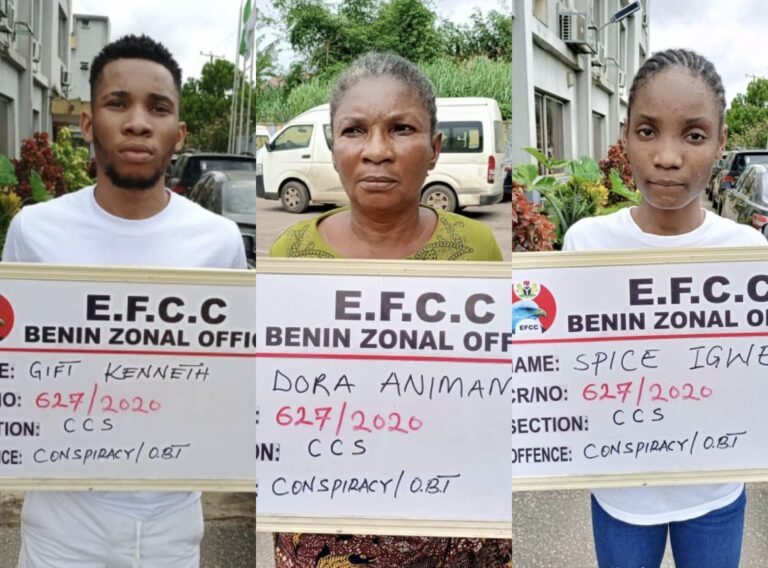 Court convicts son, mother, girlfriend for $902,935 Internet fraud