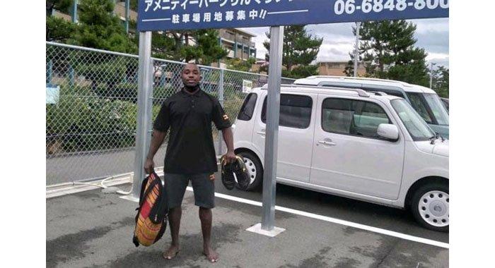 Missing Ugandan athlete spotted on CCTV