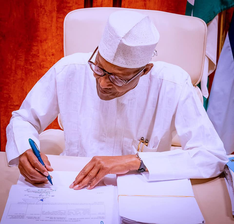 Buhari signs PIB into law on Monday, August 16, 2021