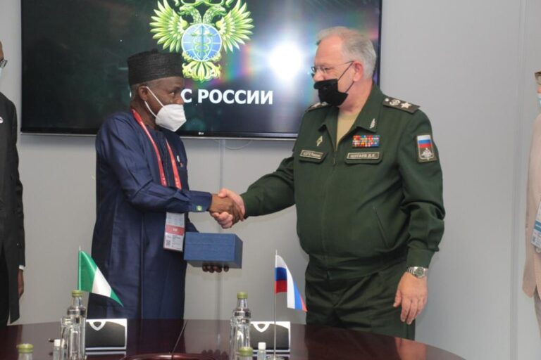 Nigeria seeks military-technical assistance from Russia