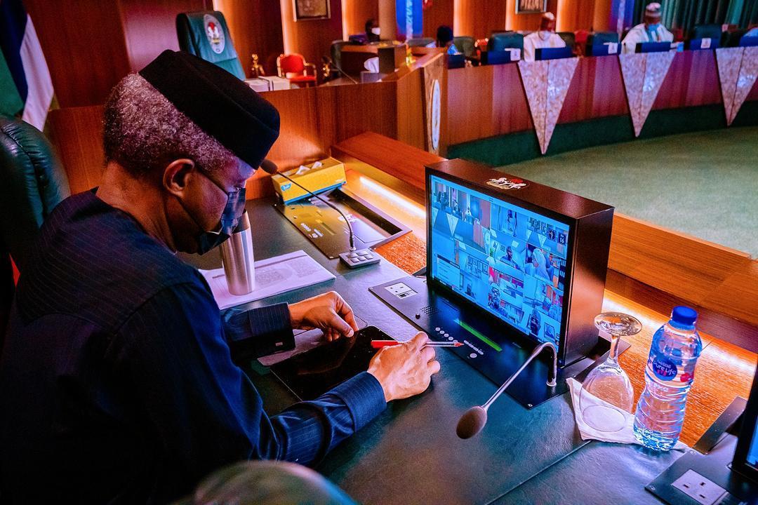 Osinbajo presides over virtual FEC meeting