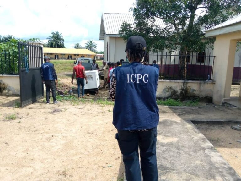 ICPC tracks projects, recovers N6.7m generator in Anambra