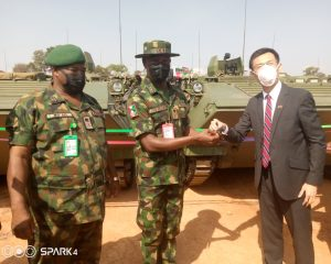 Insecurity: Nigerian Army inducts 60 new Armoured Personnel Carriers