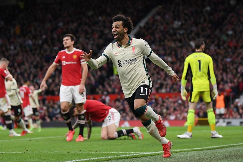 Mohamed Salah breaks Premier League record as Liverpool crush Man United at home