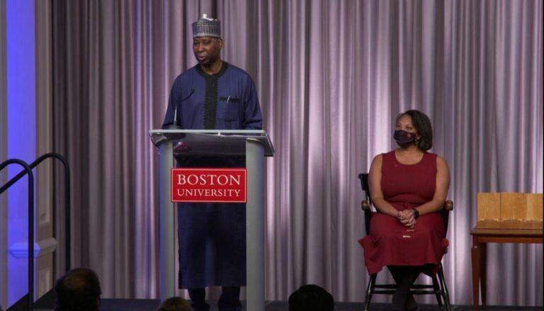 Muhammad Bande bags U.S. versity Alumni Award