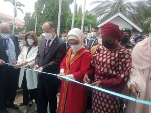 Turkish First Lady inaugurates cultural centre in Abuja