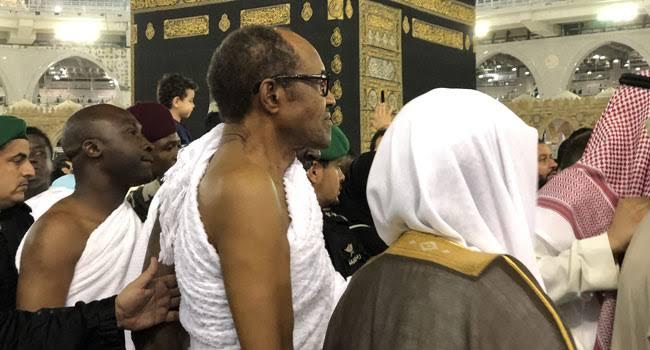 Buhari, Tinubu, Dangote, others perform Lesser Hajj