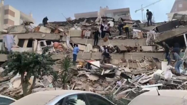Another strong quake hits Crete and Turkish coastal towns